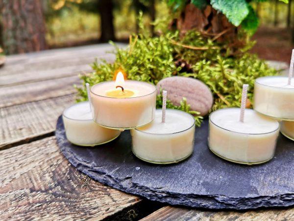 Rankų darbo žvakės, Handmade candles
